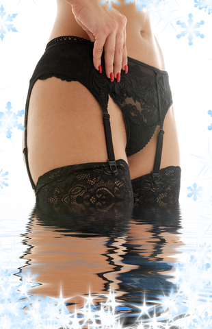 garter belts and stockings at lingeriewolf.com